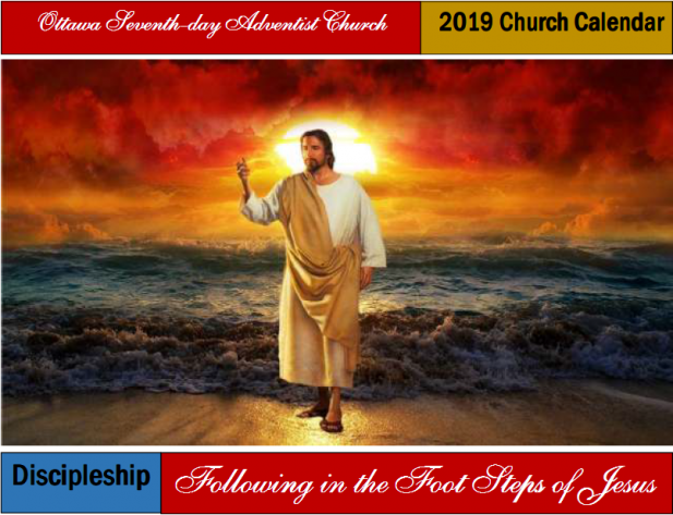 Yearly Calendar : Ottawa Adventist® Church Ottawa ON